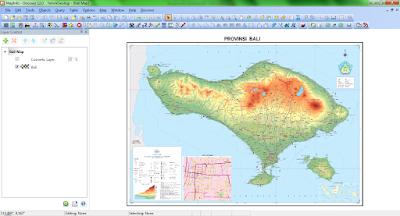 Tampilan Peta Pada Windows Map Setelah Di Register