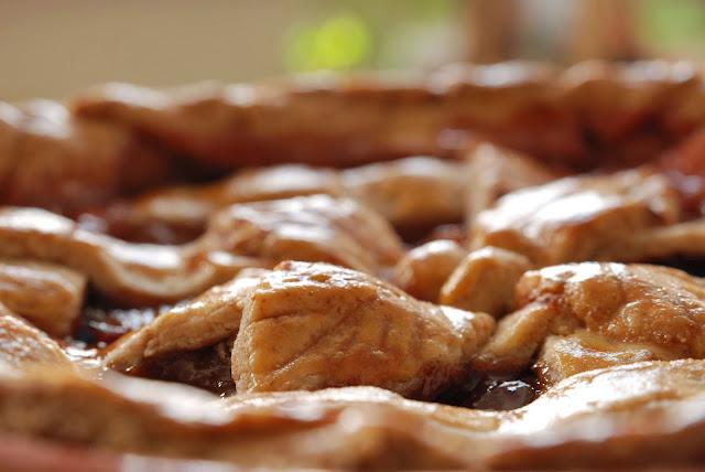 recipe pear and plum pie