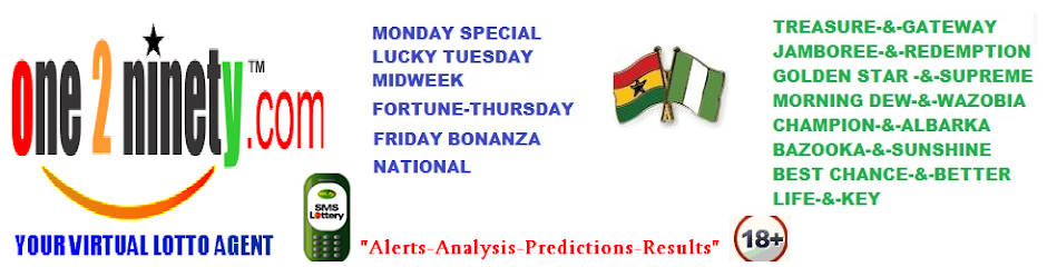 Lottery Tickets, Forecasts, Predictions, Alerts, Results,Ghana, Nigeria Lottories,