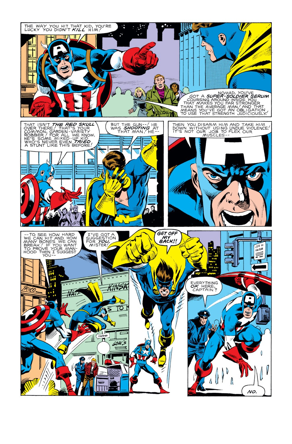 Captain America (1968) Issue #293 #221 - English 18