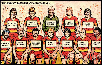 1981/82 Melchester Rovers Team Photo