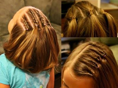 3 peinados para ni as melenas cortas - Peinados melenas cortas ...