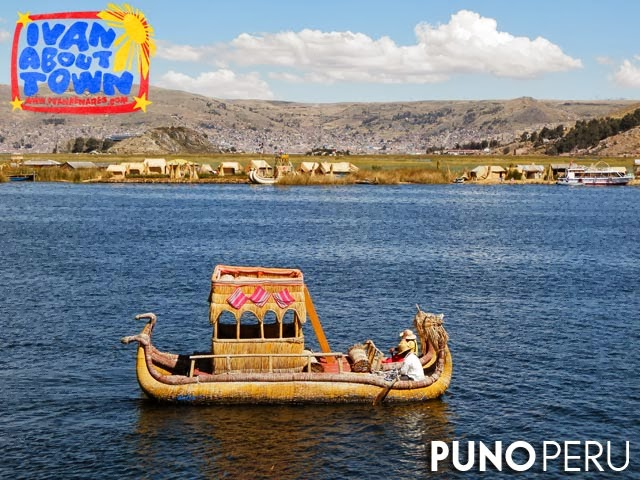 Uros Floating Islands in Puno, Peru
