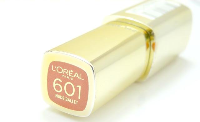 L'Oreal Extraordinaire Liquid Lipstick by Color Riche | Nude Ballet