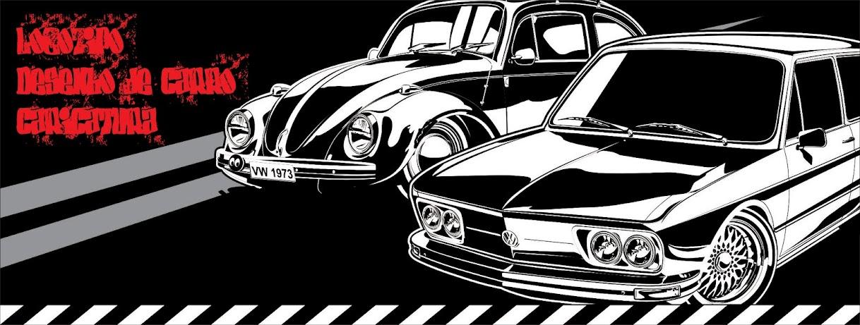 Maurício Morais, Ilustração de carros, arte automotiva, pôster, Logotipo, Cartaz.