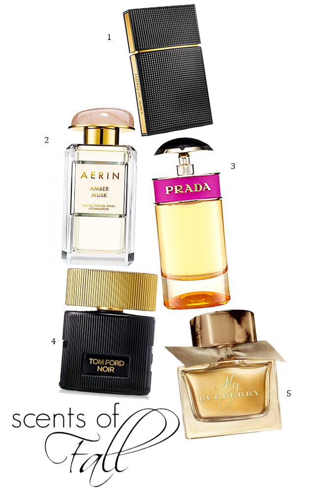 Top 5 Fall Fragrances