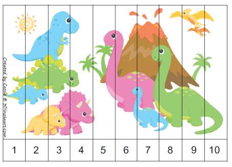 Part of the Dinosaur printables pack by 3 Dinosaurs, this is page 25 ...