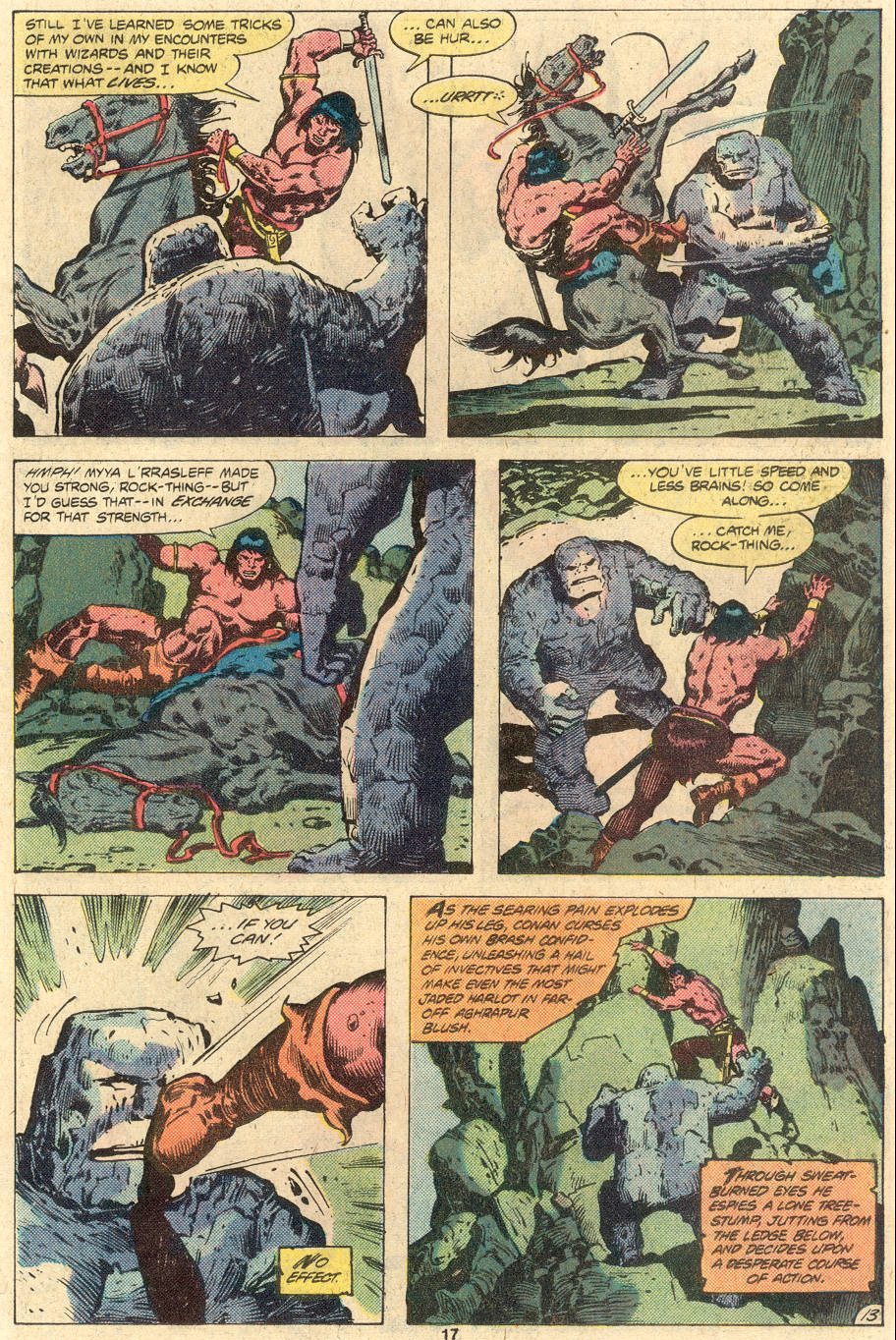 Conan the Barbarian (1970) Issue #118 #130 - English 14