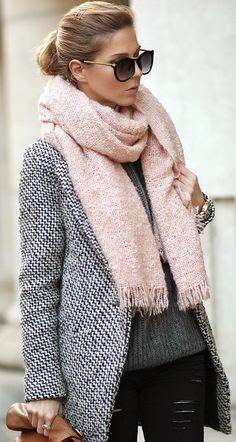 Winter Cloths with Blazzer and Scarf
