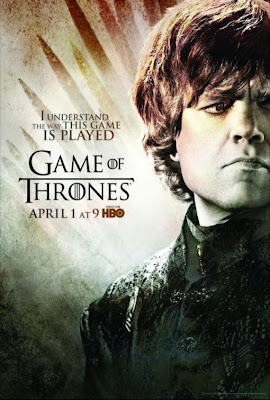 "Game of Thrones Season 2 Character Television Posters - ""I Understand The Way This Game Is Played"" - Peter Dinklage as Tyrion Lannister"