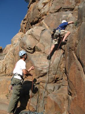 Rock Climbing Rock Climbing Propelling Tours RealAdventures