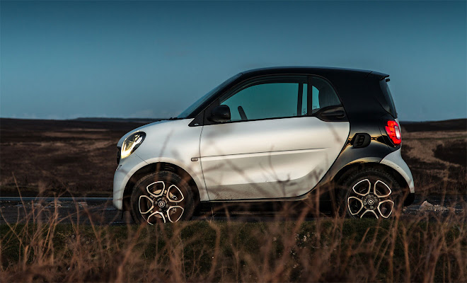 Smart ForTwo Mk3 side view