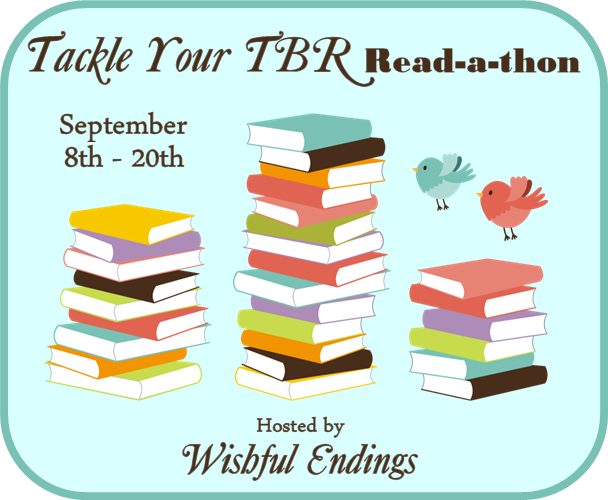http://misclisa.blogspot.com/2014/08/tackle-your-tbr-read-thon-tackletbr.html