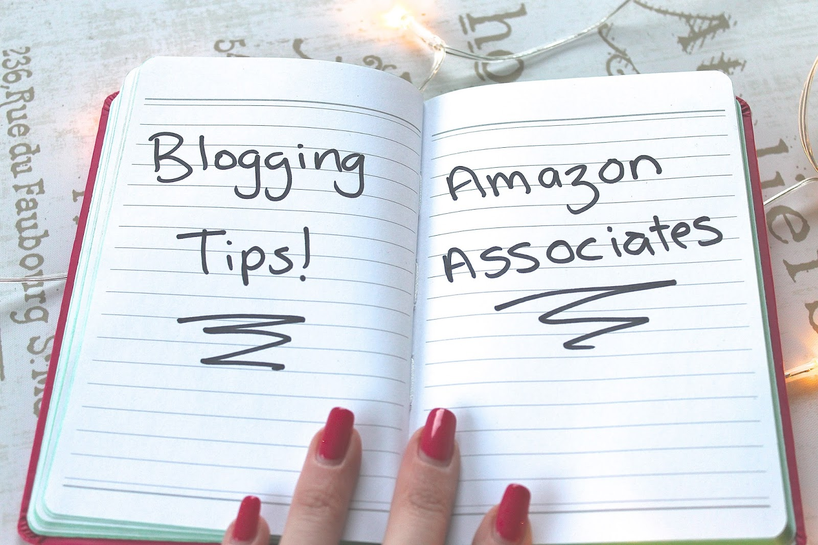 amazon associates blogger tips