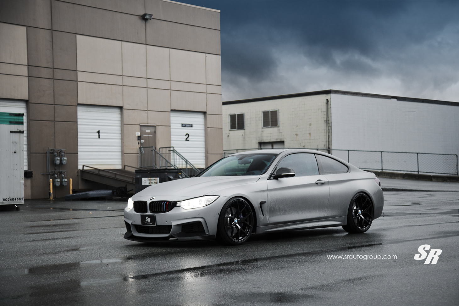 The Gear Shift Bmw M4 Lowered On Pur Wheels