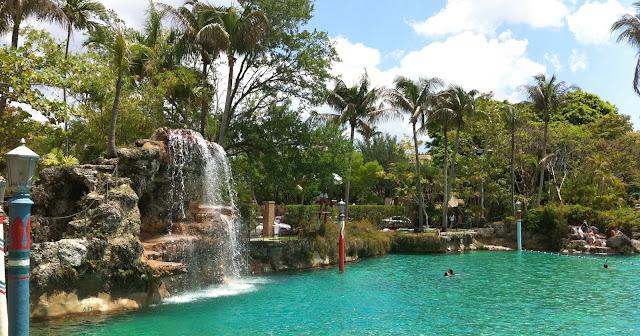 Venetian Pool Miami Florida