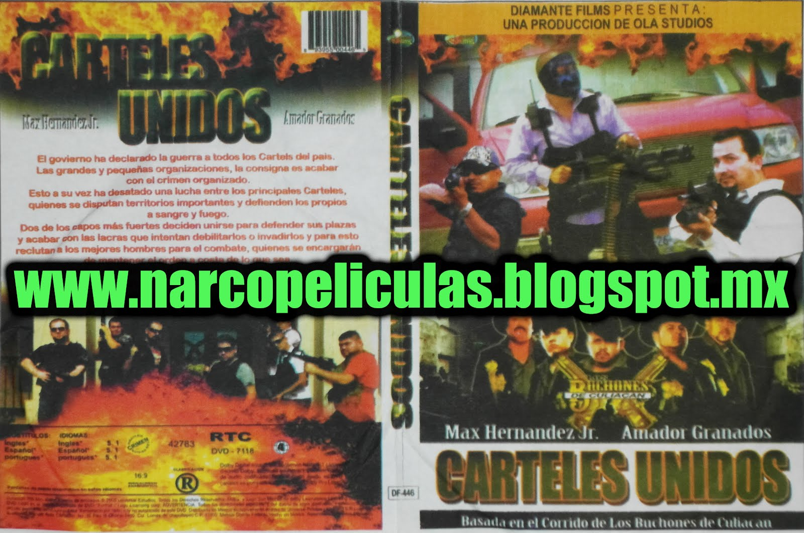 Carteles unidos 2012 - DvDRip.