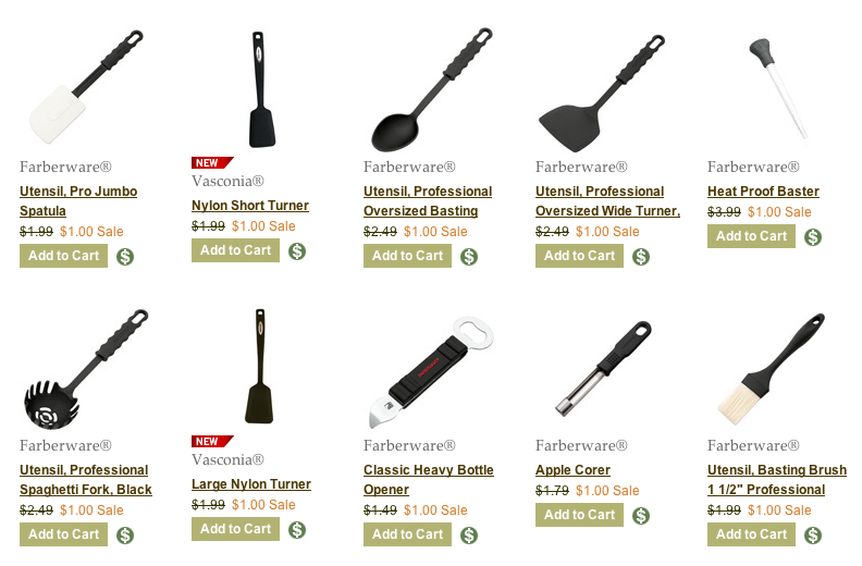 Catering Tools And Equipment And Their Uses : Mommys Wish List: Farberware Kitchen Tools $1 + more.