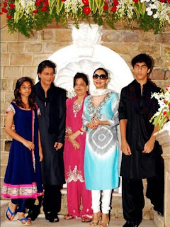 Aryan and Suhana Khan