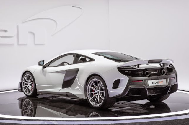 2015 New McLaren 675LT Special Edition back side view