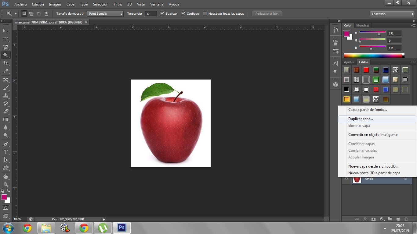 Como puedo borrar el fondo de una foto en photoshop 85