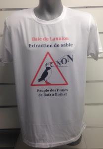 "T shirt ""Apaisement durable"" ici"