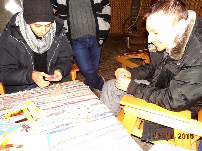 joc de carti in salina
