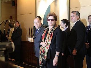 Dilma Rousseff desembarca em Washington para visita aos EUA