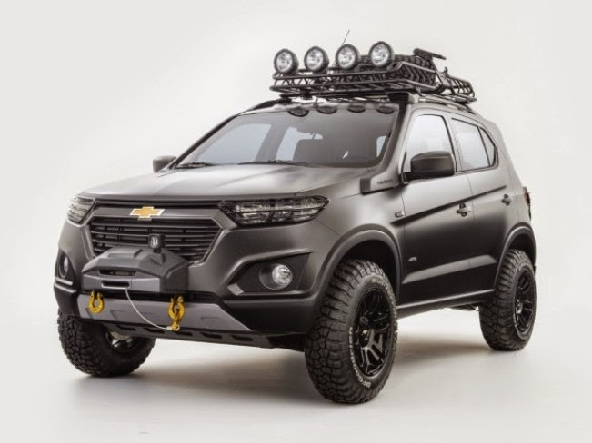 Leaked the first photos of Chevrolet Niva Concept 2015