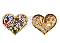 Nail Deco Parts for Valentine's Day ! lovely Heart Shape Deco Parts