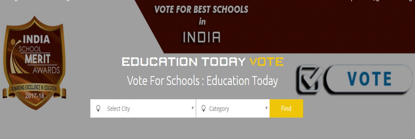 VOTE FOR THE SCHOOL