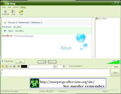 AQua Messenger Version 1.0.0.2(Beta)