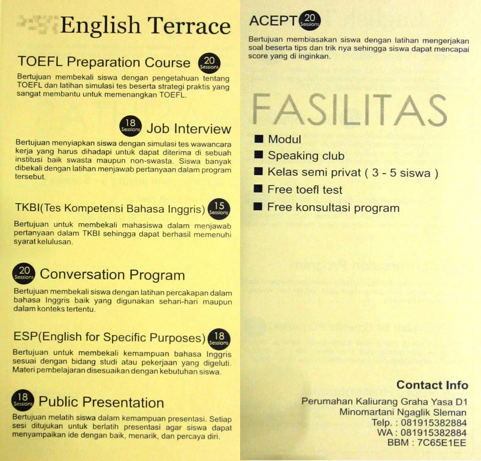 ENGLISH TERRACE