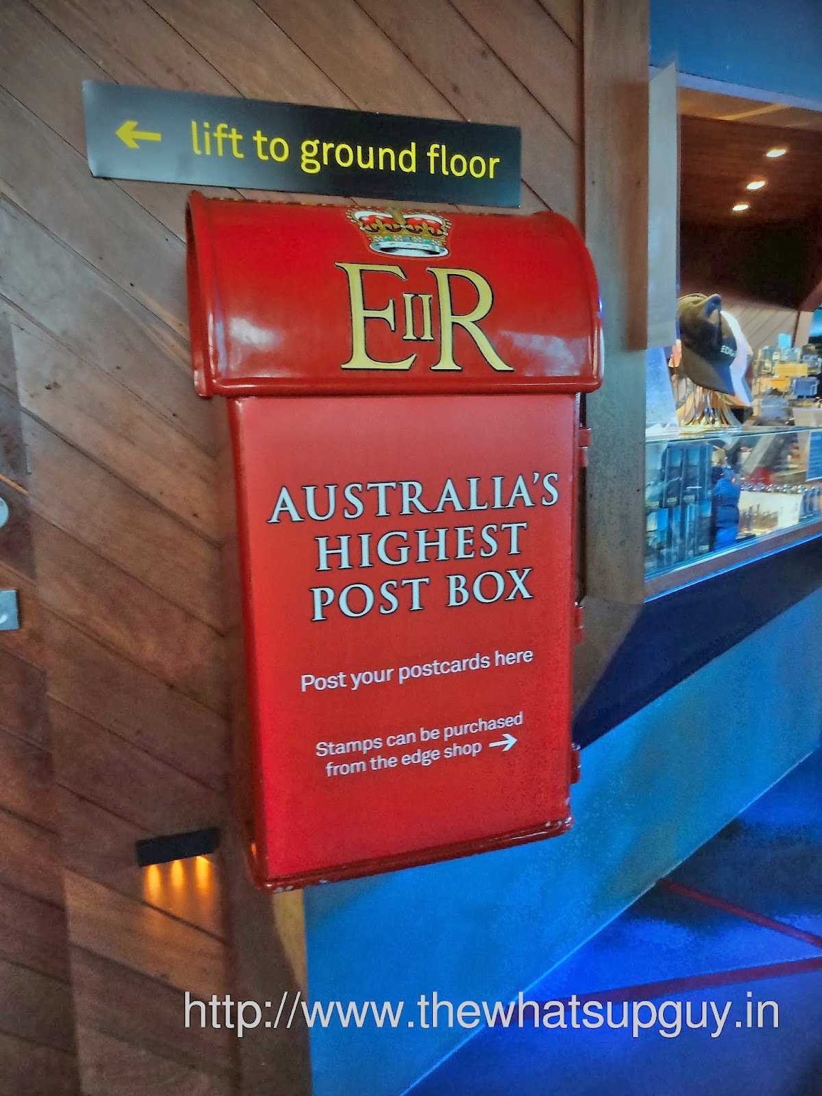 Eureka Towers Australia's Highest Post Box