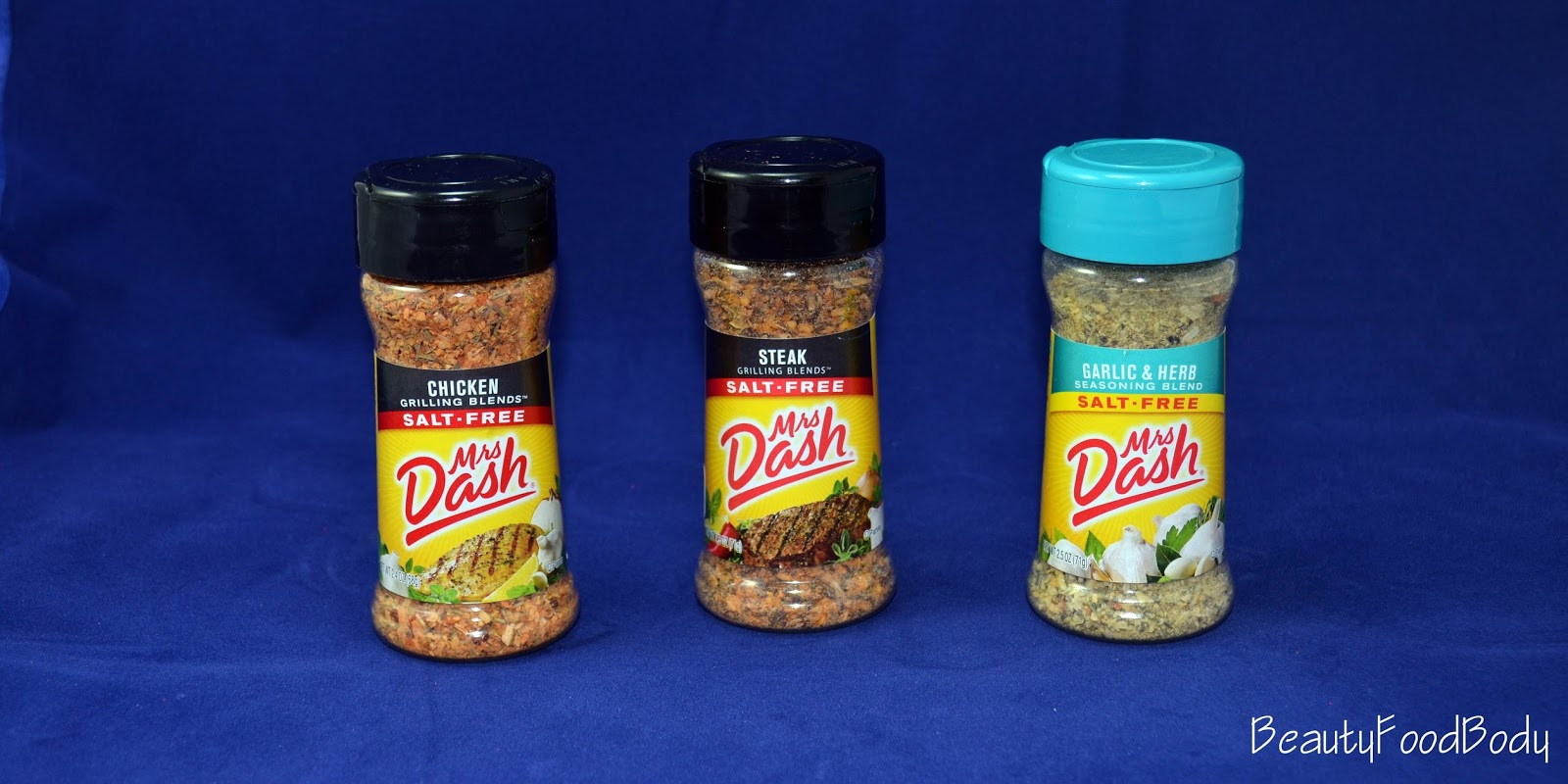 Beautyfoodbody review food mrs. dash spices especias cocina fit sana