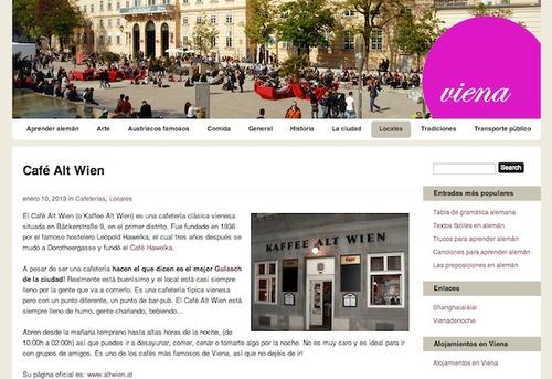 Blog Viena