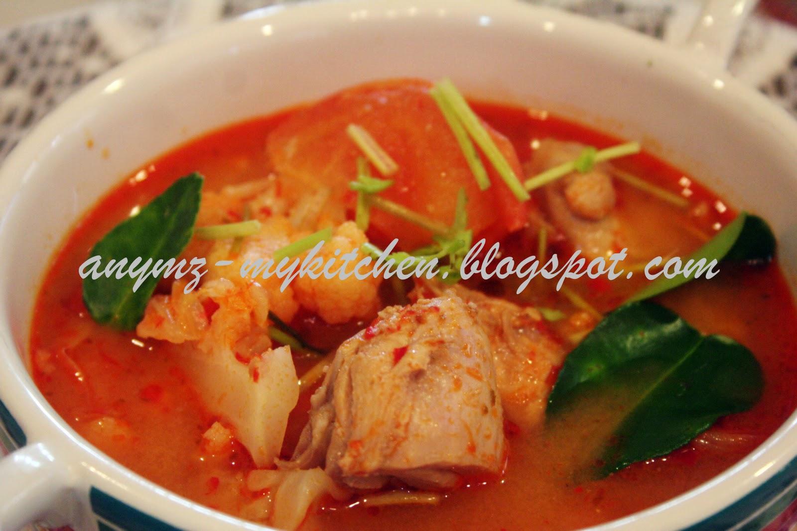 Resepi  Tom  Yam  Guna  Paste