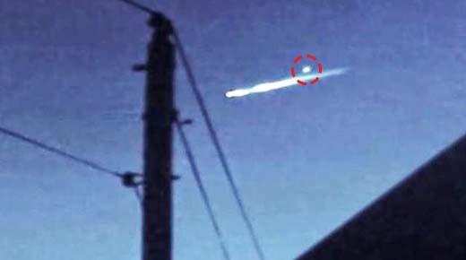 OVNI estrellándose libera Orbe en EE.UU.