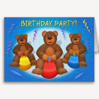 Feliz Cumpleaños con Osos, parte 2