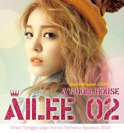 Chart Tangga Lagu Korea Terbaru Agustus 2013