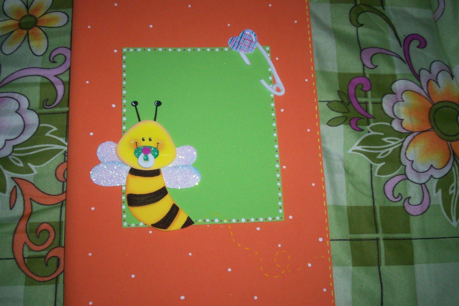Carpetas decoradas decora o top for Sobres de goma eva