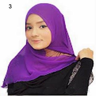 Cara Memakai Jilbab Kreasi Jilbab Shwal Untuk Kekantor