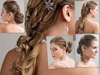 Modelo de Penteados para cabelos