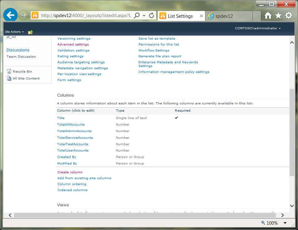 Al S Tech Tips How To Store Ad Metrics In Sharepoint 2010