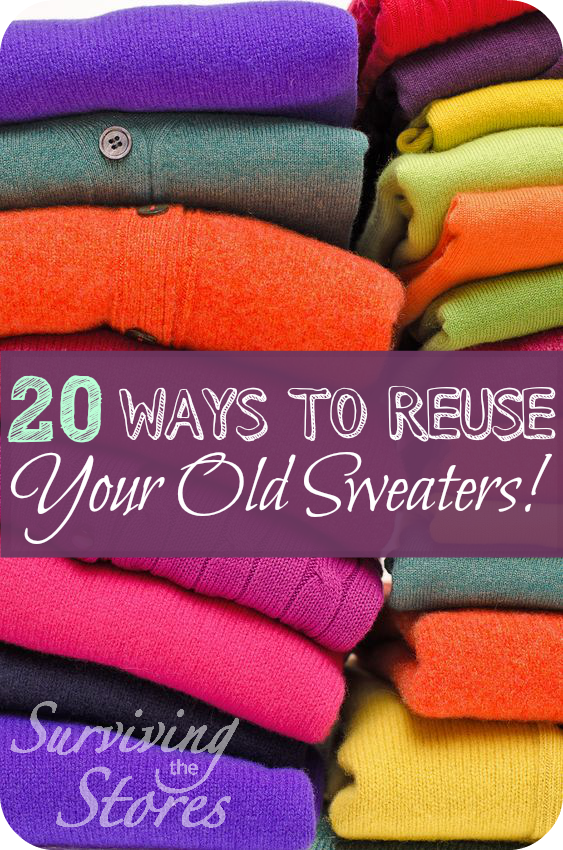 20 Ways To Reuse Your Old Sweaters