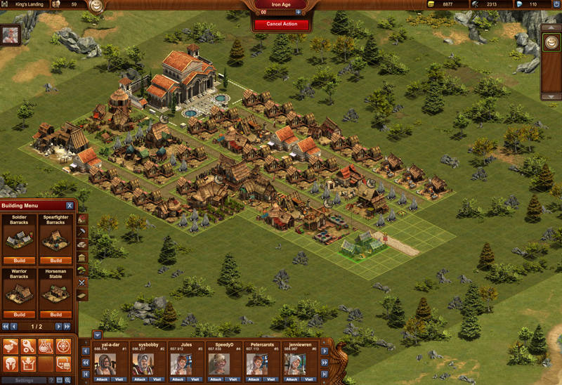 Rome wasn t built in a day create a metropolis in forge of empires