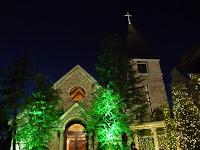 ノーザンチャーチ北山教会の十字架