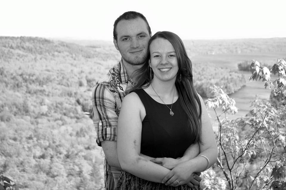 Tristin (19) & her husband, Christoffer
