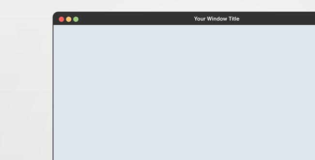 flat mock-up chrome browser