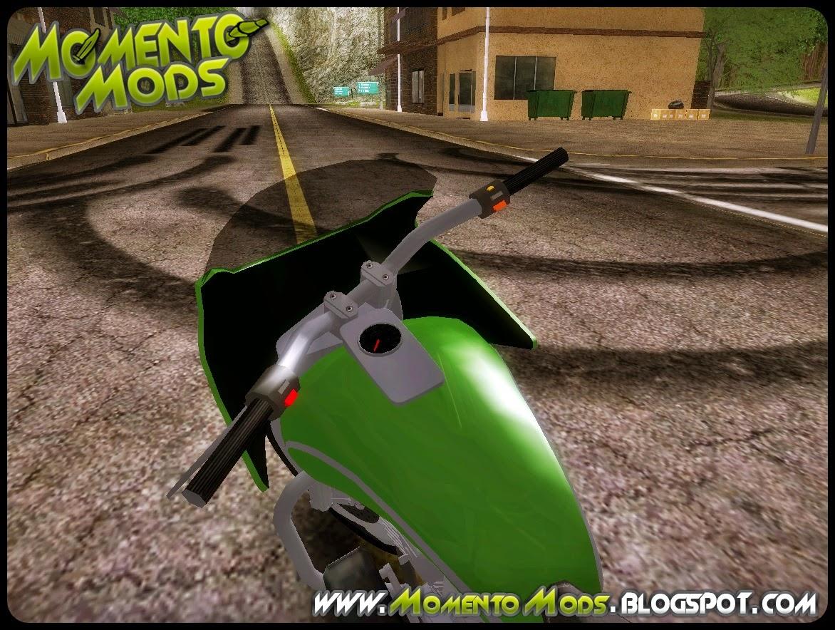 GTA SA - Bagger Convertido Do GTA V